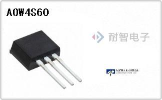 AOS公司的FET - 单-AOW4S60