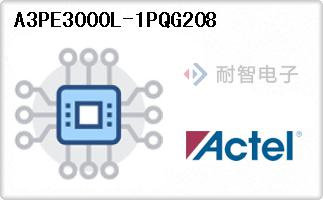 A3PE3000L-1PQG208