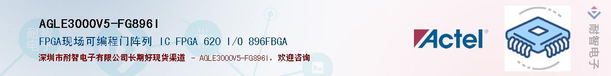 AGLE3000V5-FG896I供应商-耐智电子