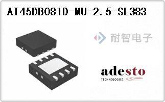Adesto公司的IC FLASH 8MBIT 50MHZ 8VDFN-AT45DB081D-MU-2.5-SL383