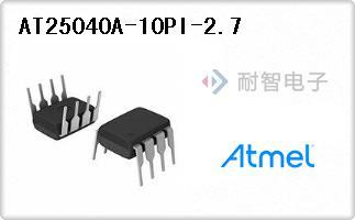 Atmel公司的存储器芯片-AT25040A-10PI-2.7