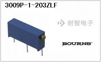 Bourns公司的微调电位计-3009P-1-203ZLF