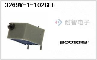 Bourns公司的微调电位计-3269W-1-102GLF