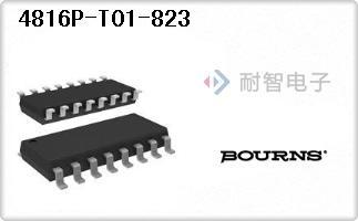Bourns公司的电阻器网络,阵列-4816P-T01-823