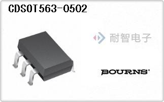 Bourns公司的二极管TVS-CDSOT563-0502