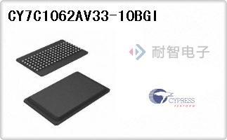 CY7C1062AV33-10BGI