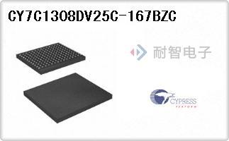 CY7C1308DV25C-167BZC