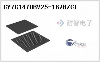 CY7C1470BV25-167BZCT