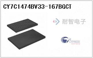 CY7C1474BV33-167BGCT
