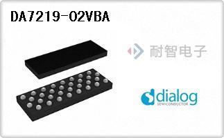 Dialog公司的接口芯片 - 编解码器-DA7219-02VBA