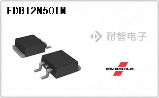 FDB12N50TM