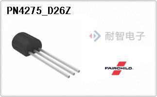 Fairchild公司的单路晶体管(BJT)-PN4275_D26Z