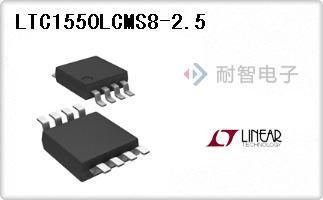 LTC1550LCMS8-2.5