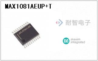 MAX1081AEUP+T