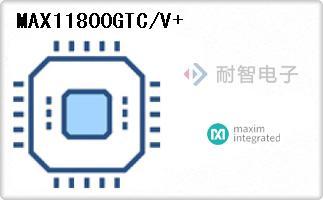 MAX11800GTC/V+