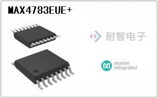 MAX4783EUE+
