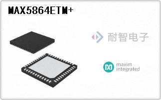 MAX5864ETM+