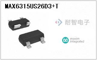 MAX6315US26D3+T