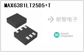 MAX6381LT25D5+T