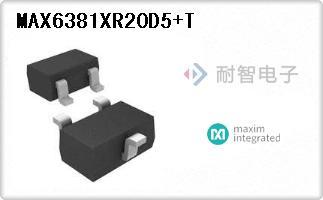 MAX6381XR20D5+T