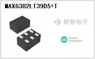 MAX6382LT39D5+T