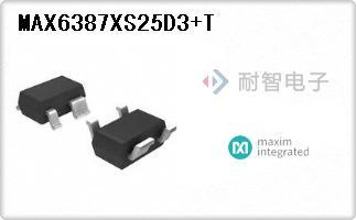 MAX6387XS25D3+T