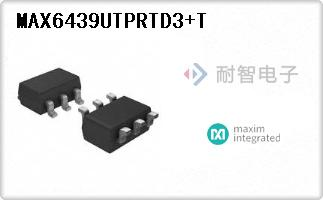 MAX6439UTPRTD3+T
