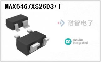 MAX6467XS26D3+T