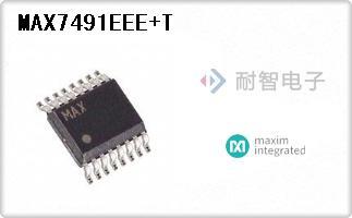 MAX7491EEE+T