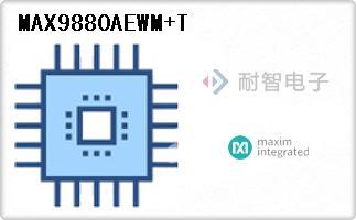 MAX9880AEWM+T