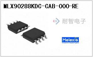 Melexis公司的磁性传感器 - 霍尔效应,数字开关,线性,罗-MLX90288KDC-CAB-000-RE