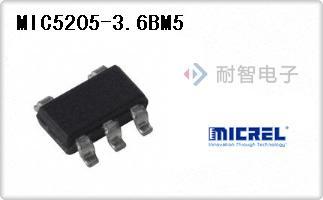 MIC5205-3.6BM5