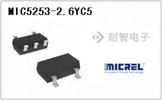 MIC5253-2.6YC5