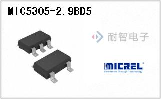 MIC5305-2.9BD5