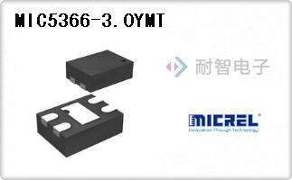 MIC5366-3.0YMT