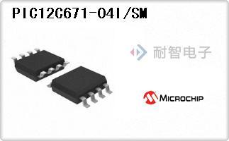 PIC12C671-04I/SM