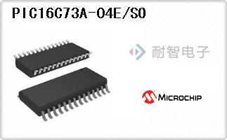 PIC16C73A-04E/SO