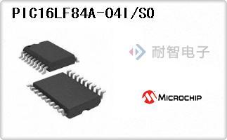 PIC16LF84A-04I/SO
