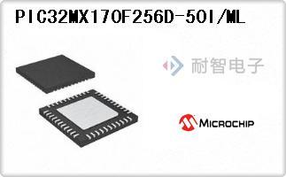 PIC32MX170F256D-50I/ML