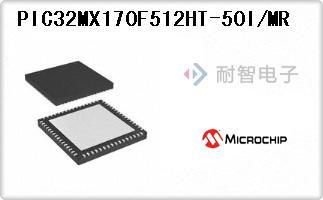 PIC32MX170F512HT-50I/MR