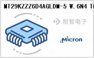 MT29KZZZ6D4AGLDM-5 W.6N4 TR