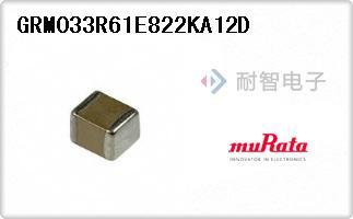GRM033R61E822KA12D