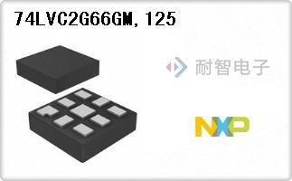 74LVC2G66GM,125