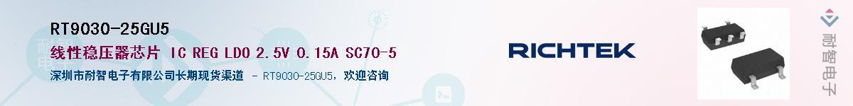 RT9030-25GU5供应商-耐智电子