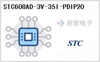 STC608AD-3V-35I-PDIP20