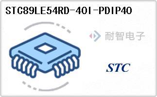 STC89LE54RD-40I-PDIP40
