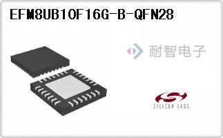 EFM8UB10F16G-B-QFN28