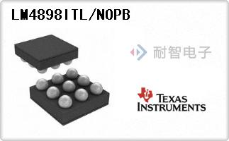 LM4898ITL/NOPB