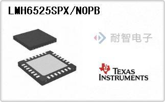 LMH6525SPX/NOPB