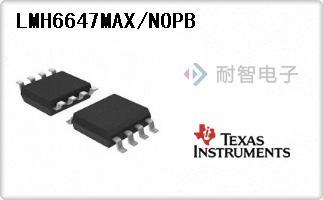 LMH6647MAX/NOPB